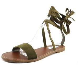 Steve Madden Lace-Up Sandals, Size 8.5